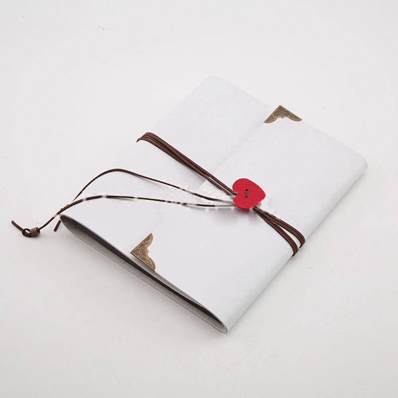 Sheets-Card-Love-Theme-Wedding-DIY-Handmade-Photo-Scrapbooking-Album-White-N4G5 thumbnail 6