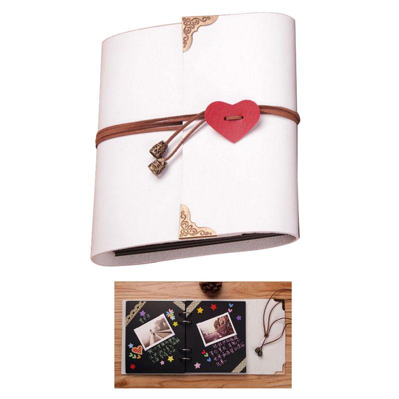 Sheets-Card-Love-Theme-Wedding-DIY-Handmade-Photo-Scrapbooking-Album-White-N4G5 thumbnail 8