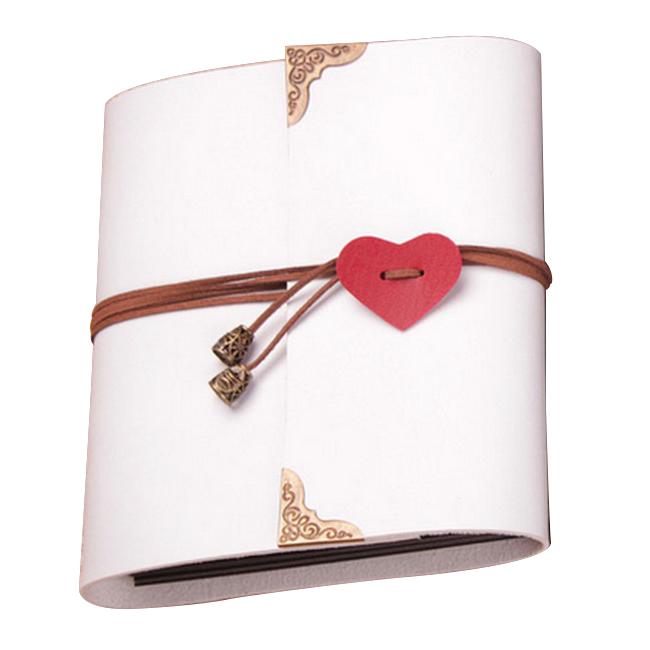 Sheets-Card-Love-Theme-Wedding-DIY-Handmade-Photo-Scrapbooking-Album-White-N4G5