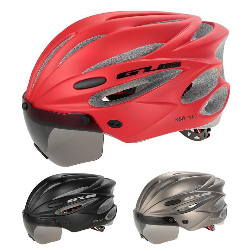 2X(GUB Bicycle Helmet Bike Cycling Adult Adjustable Unisex Safety Helmet wi C5A6