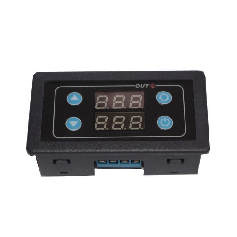 Programmabile-1-Canale-Cycle-Timer-digitale-Rele-039-Ritardo-interruttore-del-P1E4 miniatura 2
