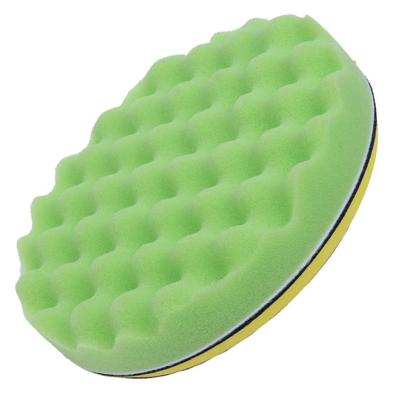 thumbnail 8 - 7Pcs Sponge Polishing Waxing Buffing Pads Kit Set Compound For Auto Car C5N8