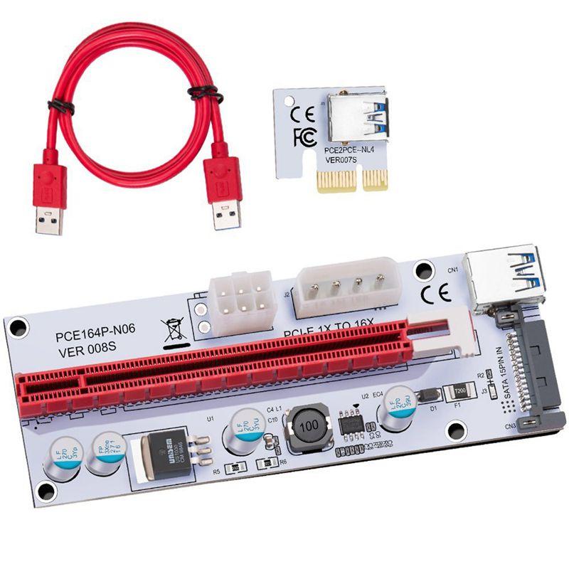 USB-3-0-Pcie-PCI-E-Express-1X-To-16X-GPU-Extender-Riser-Card-Adapter-T6M8