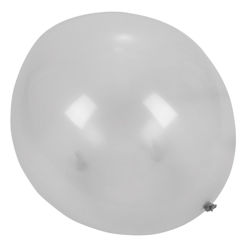 36-034-Giant-Big-Balloon-Latex-Birtay-Wedding-Party-Helium-Decoration-Silver-Z7D5 thumbnail 3