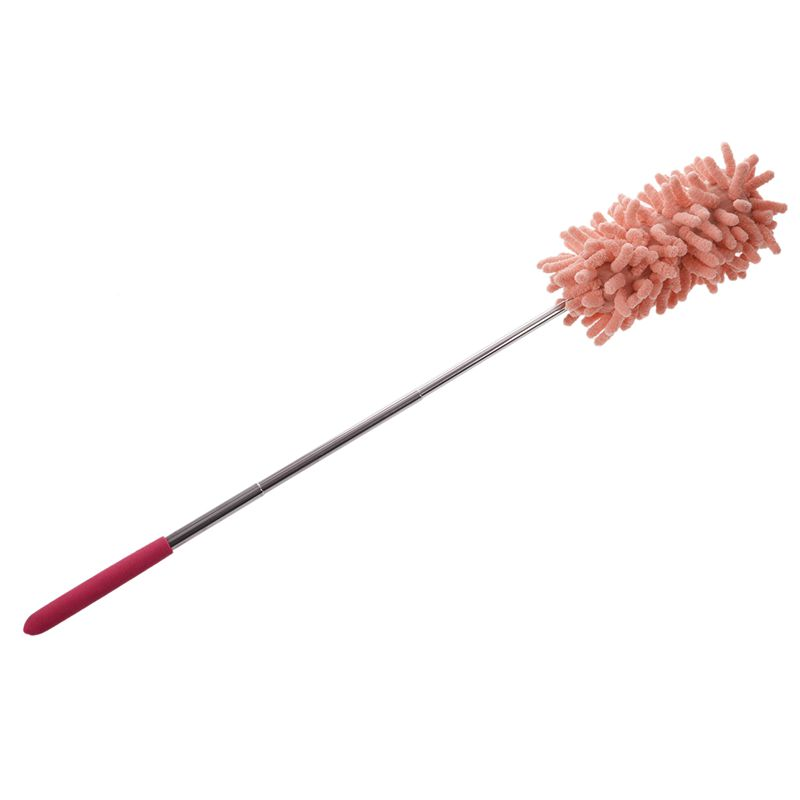 1PCS-Retractable-Chenille-Feather-Duster-pink-B4P8 thumbnail 5