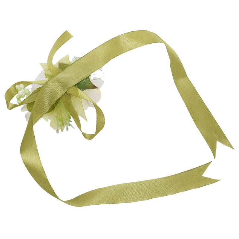 Wrist-Corsage-Bracelet-Bridesmaid-Hand-Flower-Wedding-Party-dark-blue-M3Q1 thumbnail 46