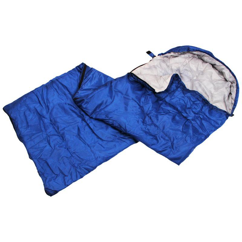 Etui-De-Combinaison-Etanche-De-Camping-Pour-Adulte-Unique-Sac-De-Couchage-D-039-7P8 miniature 12