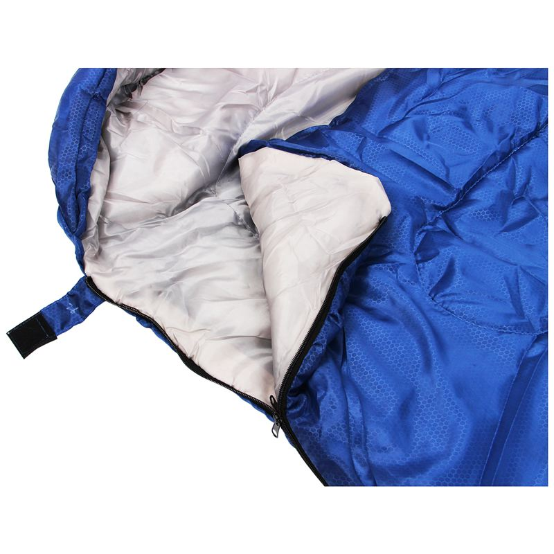 Etui-De-Combinaison-Etanche-De-Camping-Pour-Adulte-Unique-Sac-De-Couchage-D-039-7P8 miniature 13