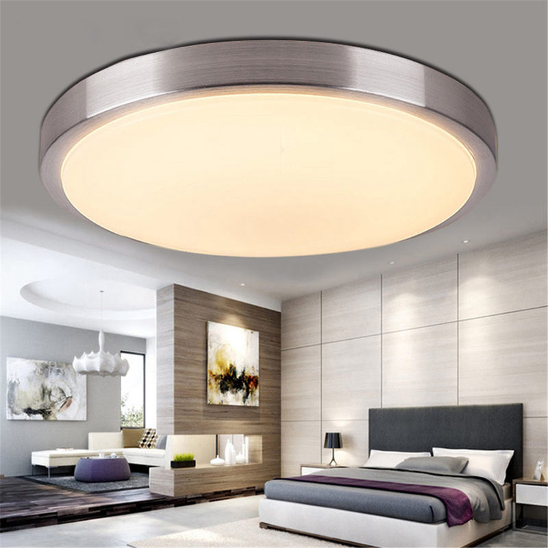 2x led decken schlafzimmer wohnzimmer oberflaechen berg lampe warmes licht k3a1 ebay. Black Bedroom Furniture Sets. Home Design Ideas