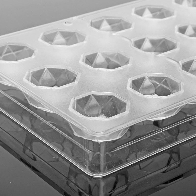 Fabricante-de-chocolate-duro-claro-Policarbonato-DIY-Molde-de-caramelo-24-bol-ST