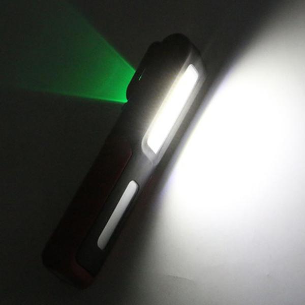 USB-Rechargeable-3W-COB-LED-Work-Light-Magnetic-Emergency-Flashlight-Torch-C9K7 thumbnail 9