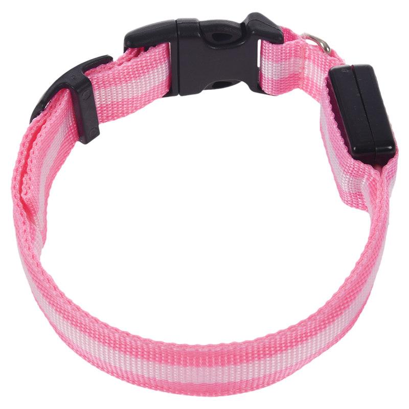 10X-Glow-LED-Cat-Dog-Pet-Collar-Flashing-Light-Up-Safety-Collar-Red-M-N9N6 thumbnail 16