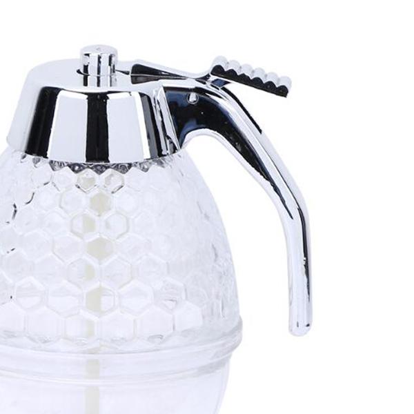 200ML-Tarro-de-dispensador-miel-Envase-Copa-jugo-Tetera-Jarabe-para-Cocina-So2N1