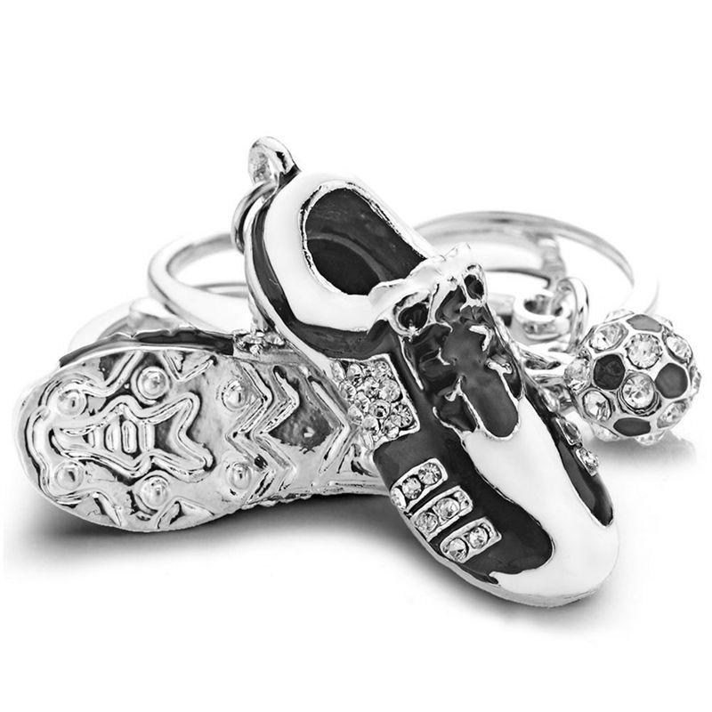 De Llavero Futbol Cristal Zapatos Llaveros culKTJ3F1