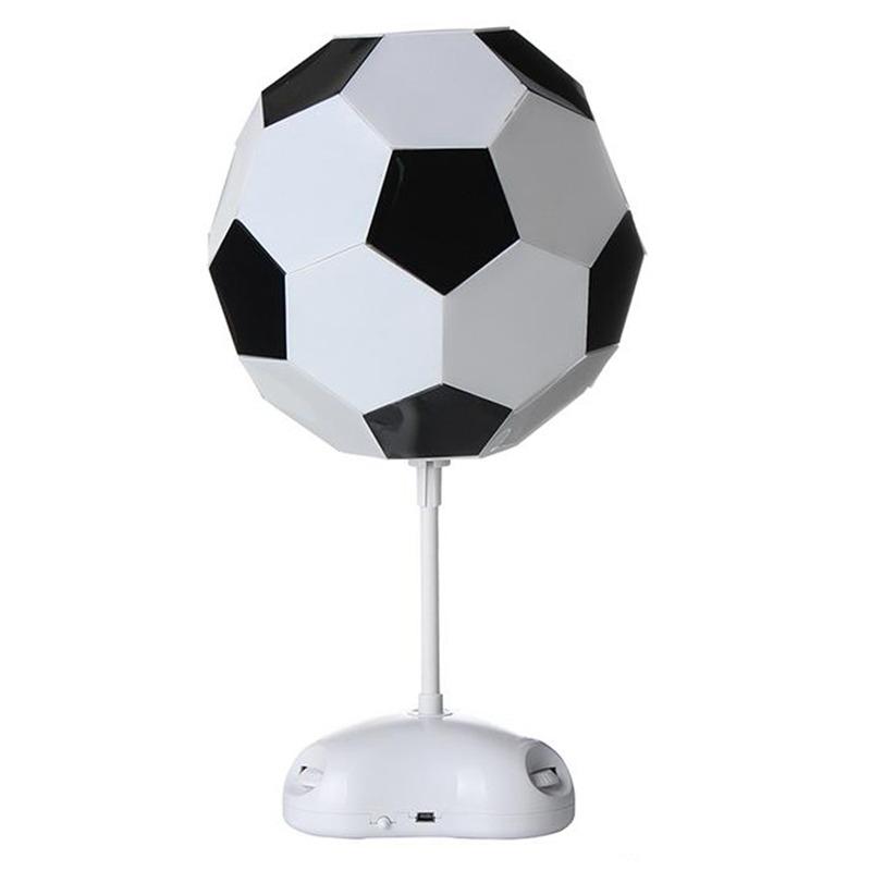 10X (Lámpara de fútbol Copa del Mundo Hecho a Mano Luz de Noche Lámpara de Escritorio alimentado por batería G5F2)