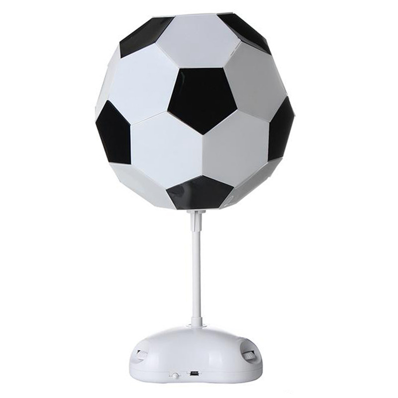 10X(World Cup Football Lamp Handmade Night Light Desk Lamp Battery Powerot G5F2)