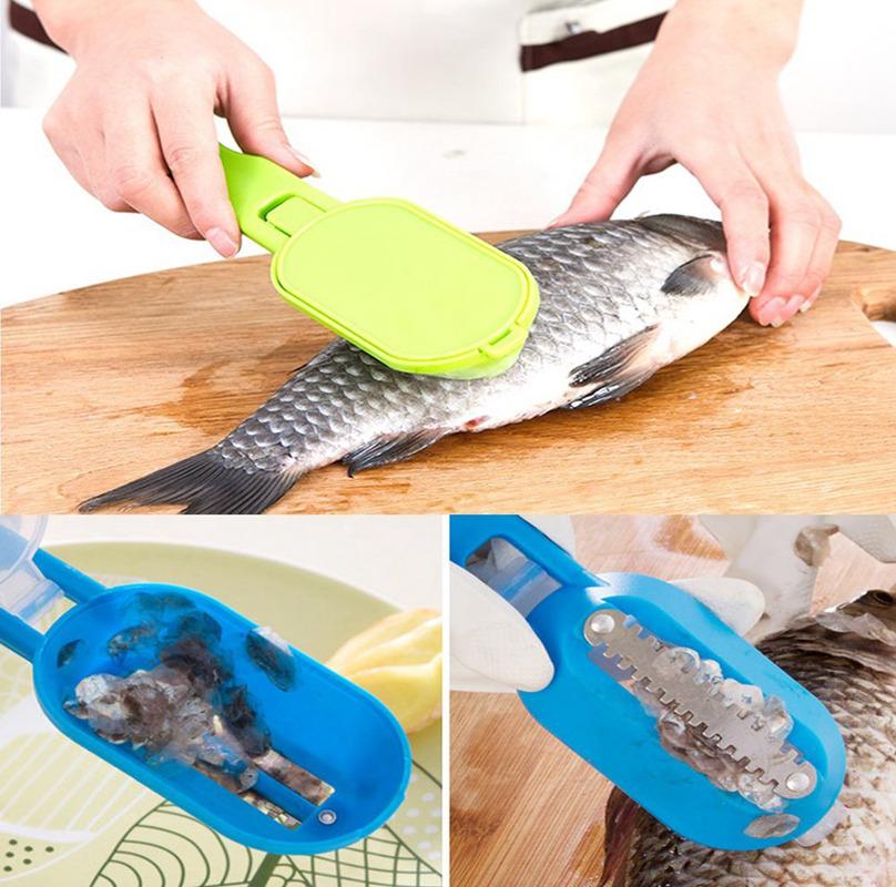 Cuchillo-de-escamas-pescado-acero-inoxidable-Raspador-Removedor-Color-aleatP4Q1