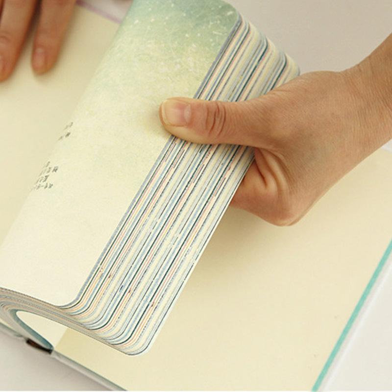 Paginas-a-color-de-Tendencia-creativa-Cuaderno-A5-de-patron-de-Pequena-casa-azul miniatura 4