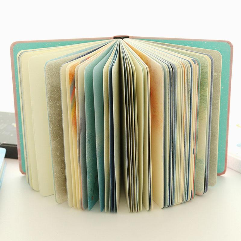 Paginas-a-color-de-Tendencia-creativa-Cuaderno-A5-de-patron-de-Pequena-casa-azul miniatura 7