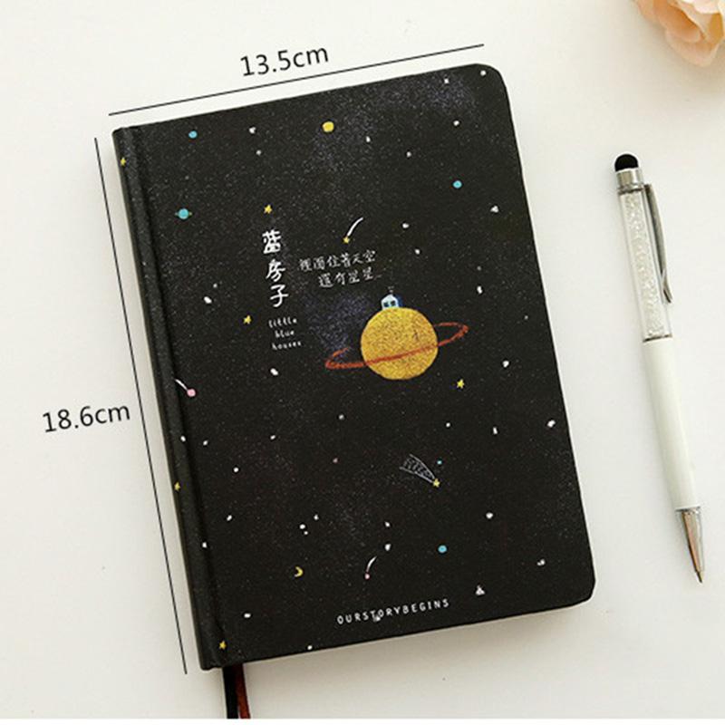 Paginas-a-color-de-Tendencia-creativa-Cuaderno-A5-de-patron-de-Pequena-casa-azul miniatura 11