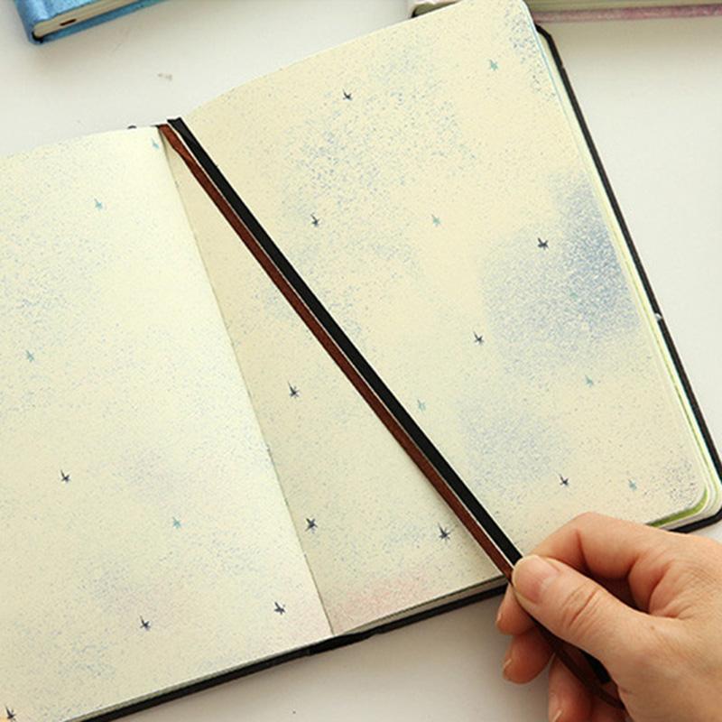 Paginas-a-color-de-Tendencia-creativa-Cuaderno-A5-de-patron-de-Pequena-casa-azul miniatura 12
