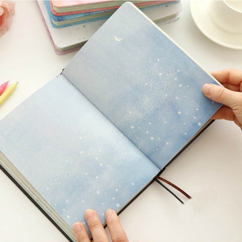 Paginas-a-color-de-Tendencia-creativa-Cuaderno-A5-de-patron-de-Pequena-casa-azul miniatura 13