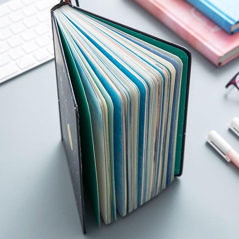 Paginas-a-color-de-Tendencia-creativa-Cuaderno-A5-de-patron-de-Pequena-casa-azul miniatura 15