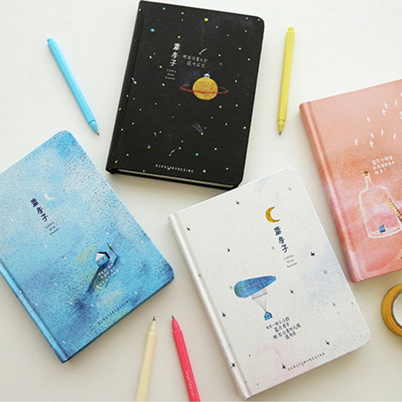 Paginas-a-color-de-Tendencia-creativa-Cuaderno-A5-de-patron-de-Pequena-casa-azul miniatura 17