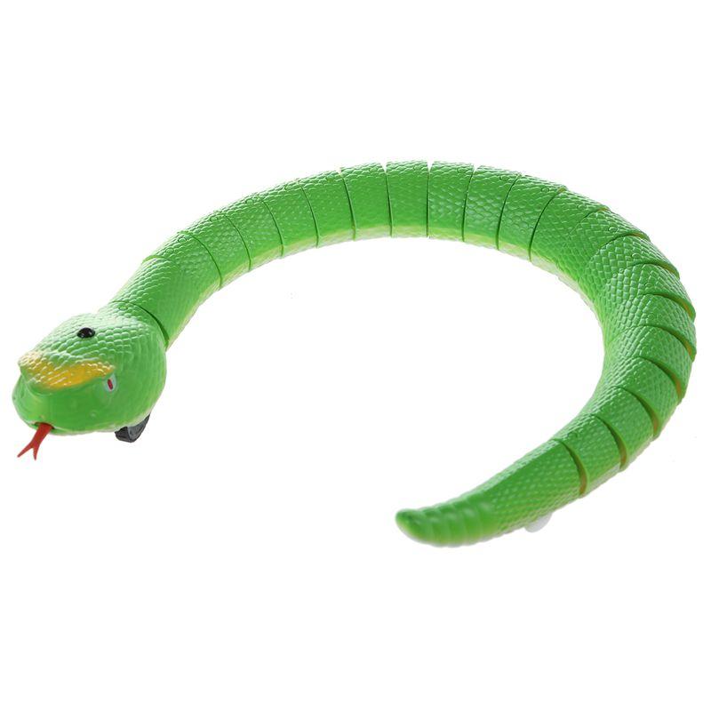 Giocattolo-del-serpente-di-RC-serpente-telecomandato-ricaricabile-con-i-gi-H6O8 miniatura 4