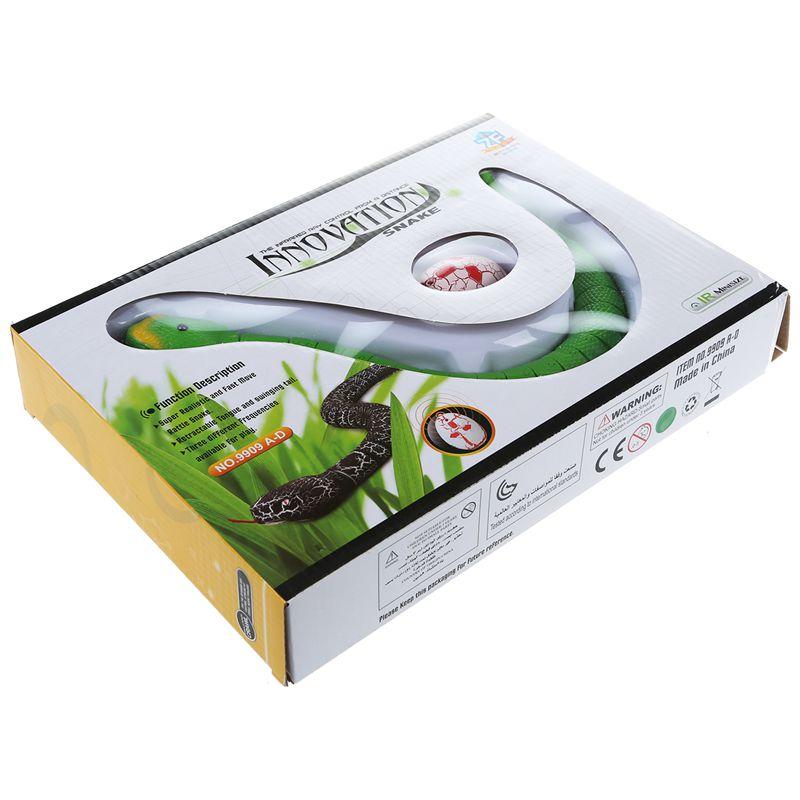Giocattolo-del-serpente-di-RC-serpente-telecomandato-ricaricabile-con-i-gi-H6O8 miniatura 10
