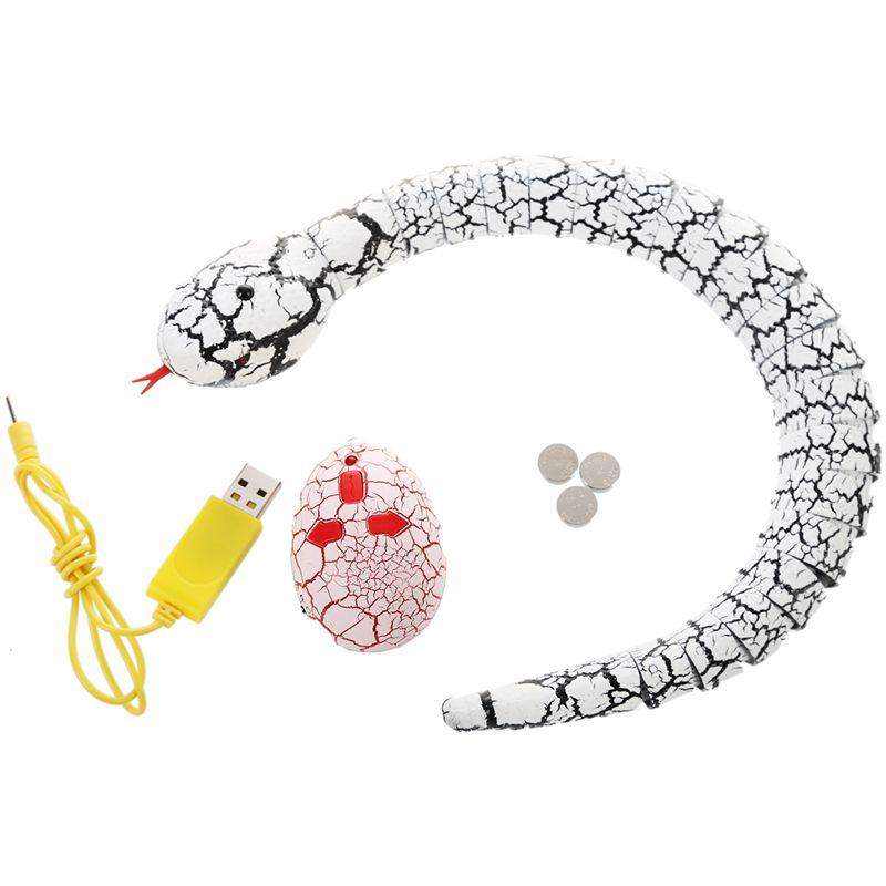 Giocattolo-del-serpente-di-RC-serpente-telecomandato-ricaricabile-con-i-gi-H6O8 miniatura 12