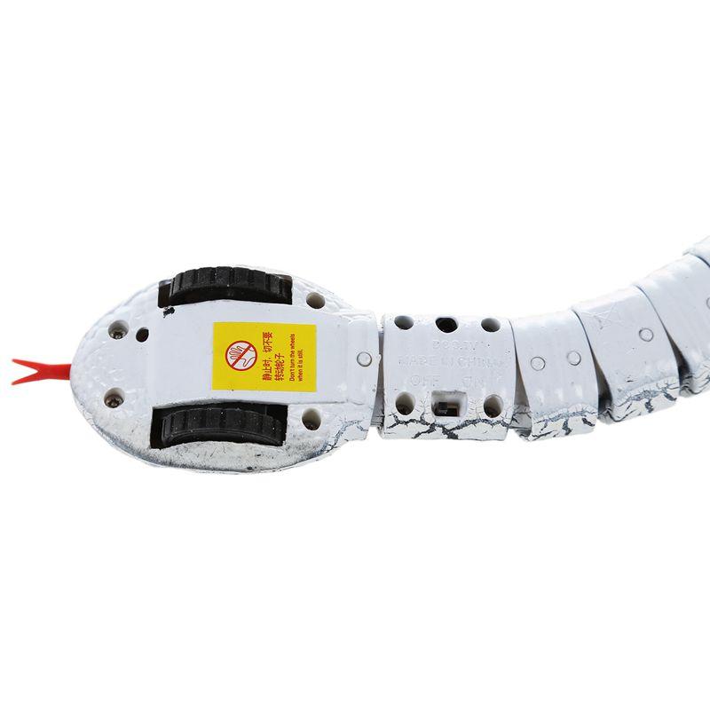Giocattolo-del-serpente-di-RC-serpente-telecomandato-ricaricabile-con-i-gi-H6O8 miniatura 18