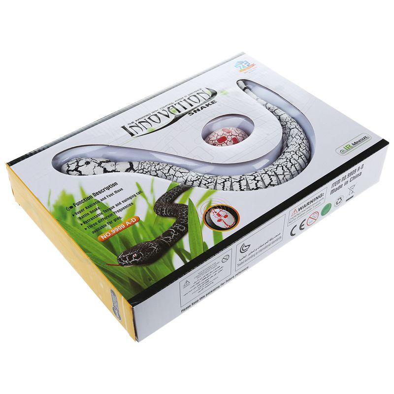 Giocattolo-del-serpente-di-RC-serpente-telecomandato-ricaricabile-con-i-gi-H6O8 miniatura 19