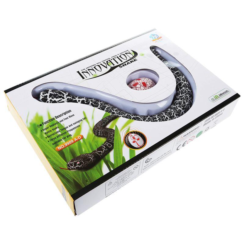 Giocattolo-del-serpente-di-RC-serpente-telecomandato-ricaricabile-con-i-gi-H6O8 miniatura 37