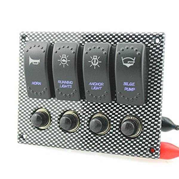 1pz-Panel-de-interruptores-basculante-3-pines-grabado-impermeable-4-patillas-8M9