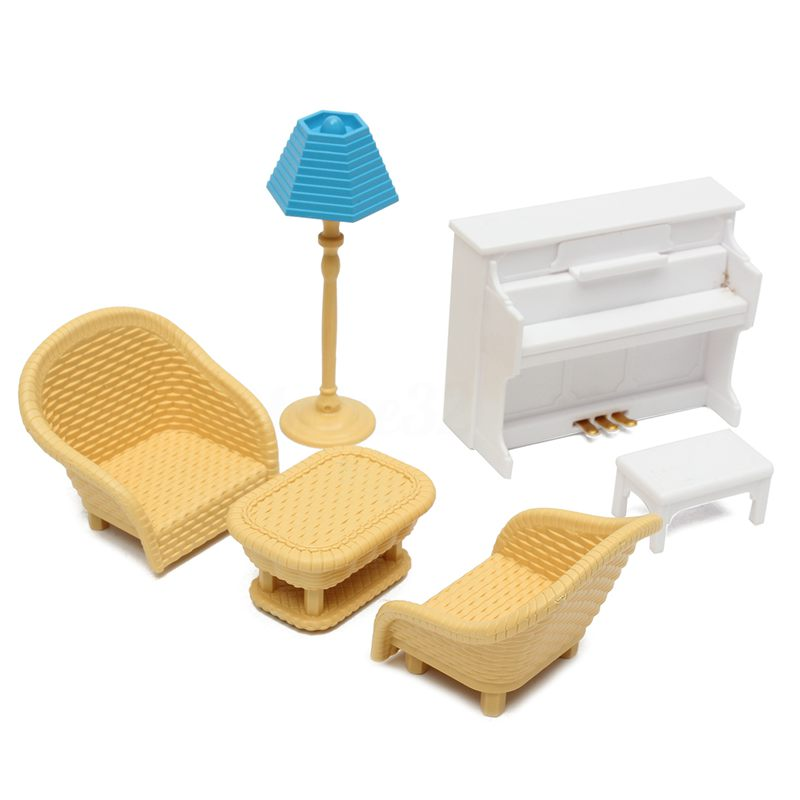 6-Pz-Sofa-Table-Miniature-Dollhouse-Furniture-Living-Room-Giochi-per-bambin-I4C8