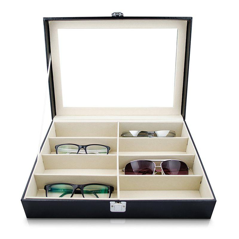 Caja-de-almacenamiento-de-gafas-de-sol-anteojos-Caja-de-exposicion-de-gafas-Z2C9