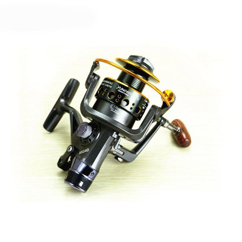 Yumoshi-5-2-1-10-1-BB-PESCA-CON-MULINELLO-anteriore-e-posteriore-DRAG-bobine-spinning-anche-B6F6 miniatura 3