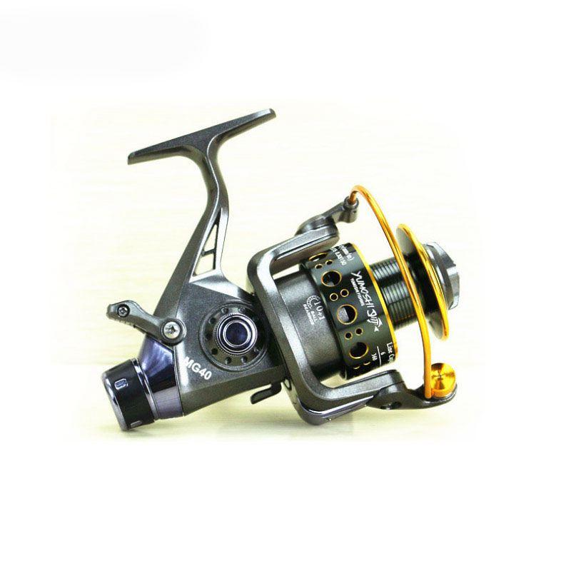 Yumoshi-5-2-1-10-1-BB-PESCA-CON-MULINELLO-anteriore-e-posteriore-DRAG-bobine-spinning-anche-B6F6 miniatura 4