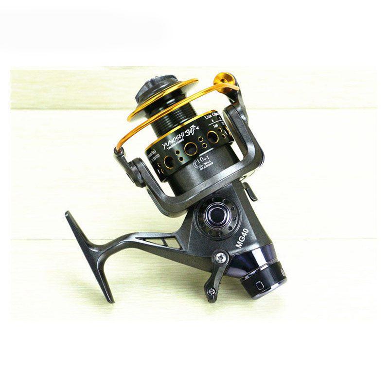 Yumoshi-5-2-1-10-1-BB-PESCA-CON-MULINELLO-anteriore-e-posteriore-DRAG-bobine-spinning-anche-B6F6 miniatura 7