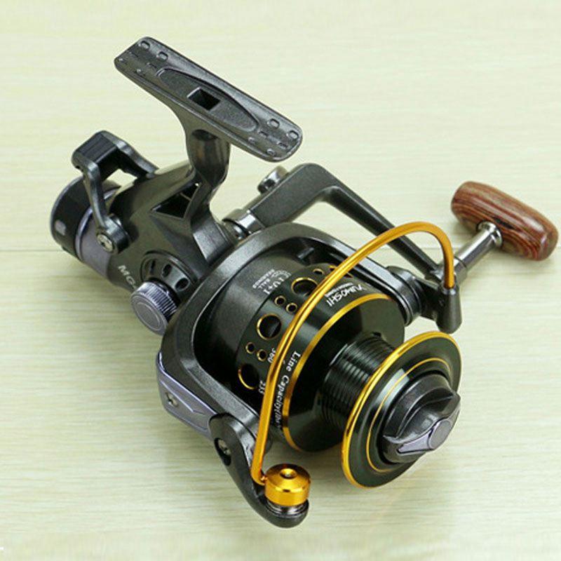 Yumoshi-5-2-1-10-1-BB-PESCA-CON-MULINELLO-anteriore-e-posteriore-DRAG-bobine-spinning-anche-B6F6 miniatura 8