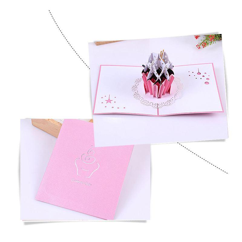 3X Pop Up Birthday Cards 2 Pack Valentines