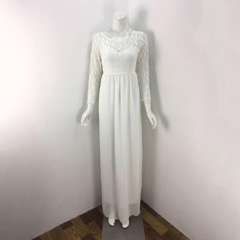 Women Maternity Clothes Dresses Lace Evening Dress Pregnancy Gown ...