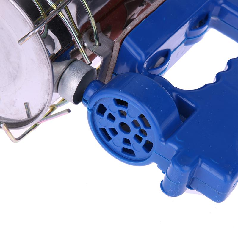 5X(acier inoxydable electrique Bee Kit emetteur emetteur emetteur de fumee electrique apicultur I6 0683b2
