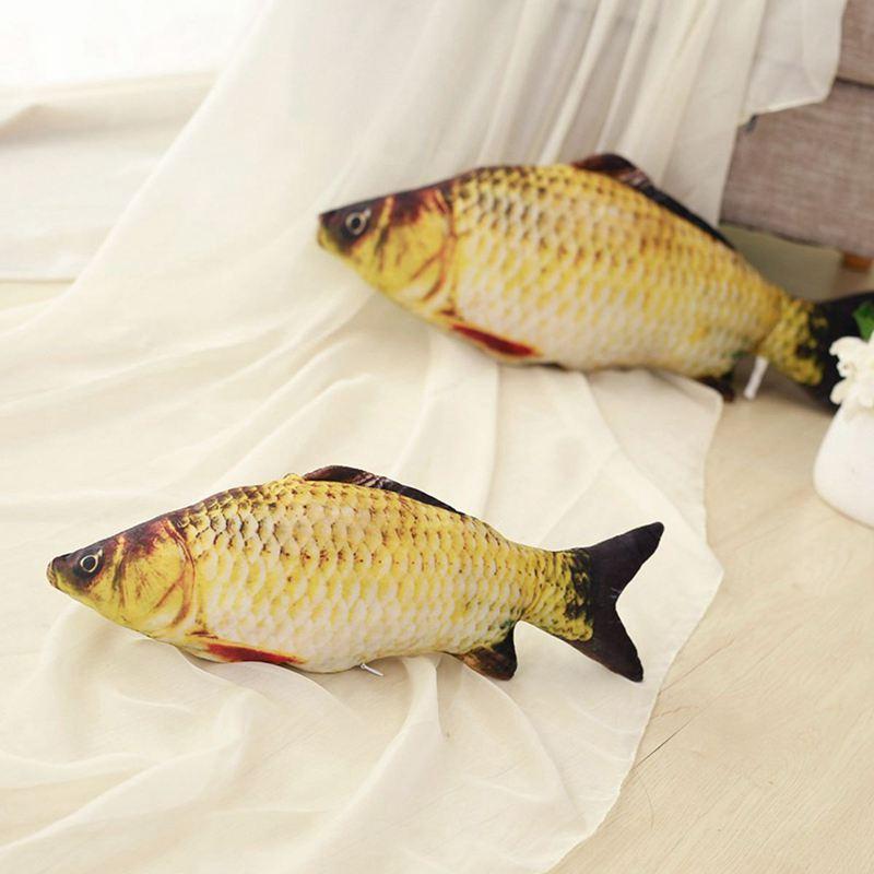 Big-Fish-Shape-Decorative-Cushion-Throw-Pillow-with-Inner-Home-Decor-Cartoon-S1P thumbnail 8