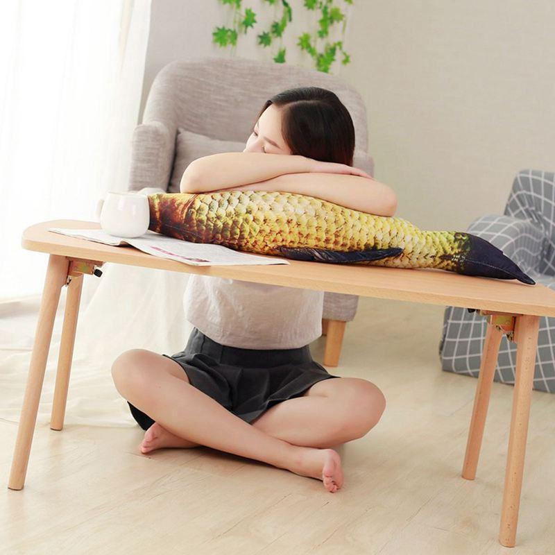 Big-Fish-Shape-Decorative-Cushion-Throw-Pillow-with-Inner-Home-Decor-Cartoon-S1P thumbnail 9