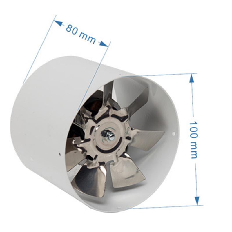 2800R-Min-Duct-Booster-Vent-Fan-Metal-220V-25W-4-Inch-Inline-Ducting-Fan-Ex-S8I1