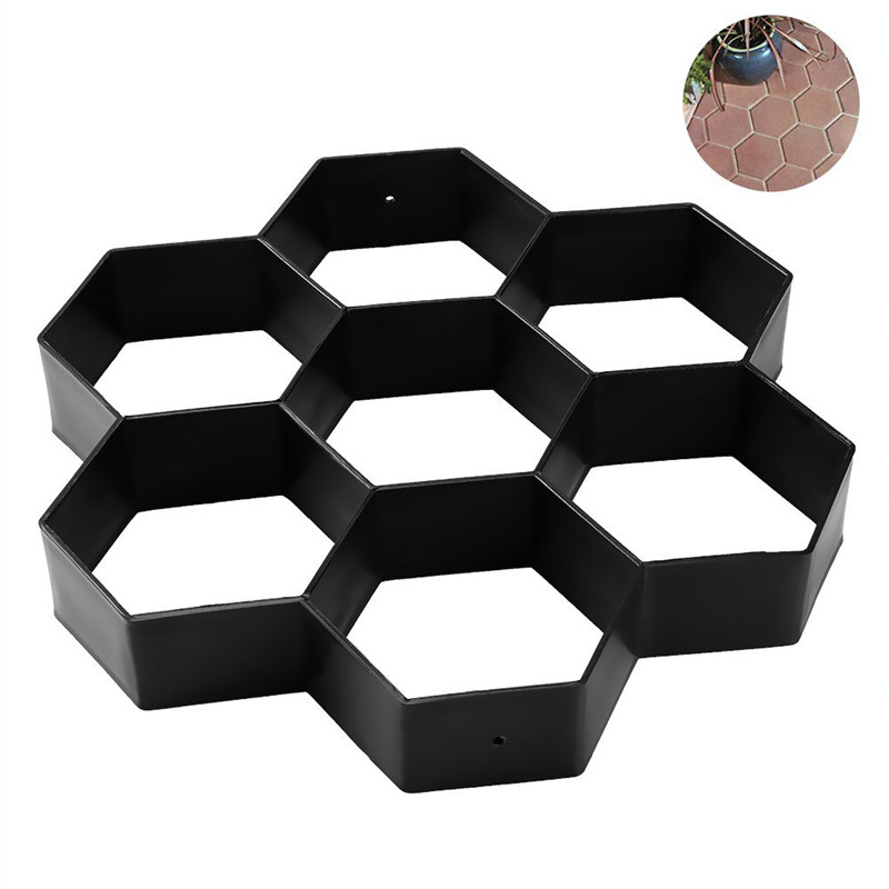 diy patio promenamaker stepping stone beton pave moule reutilisable chemin mv8w7 ebay. Black Bedroom Furniture Sets. Home Design Ideas