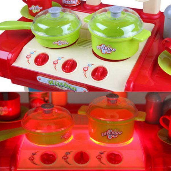 2X(1 Satz tragbare elektronische Kinder Kinder Kueche Kueche Kueche Kochen Maedchen Spie D8U4) cb8234