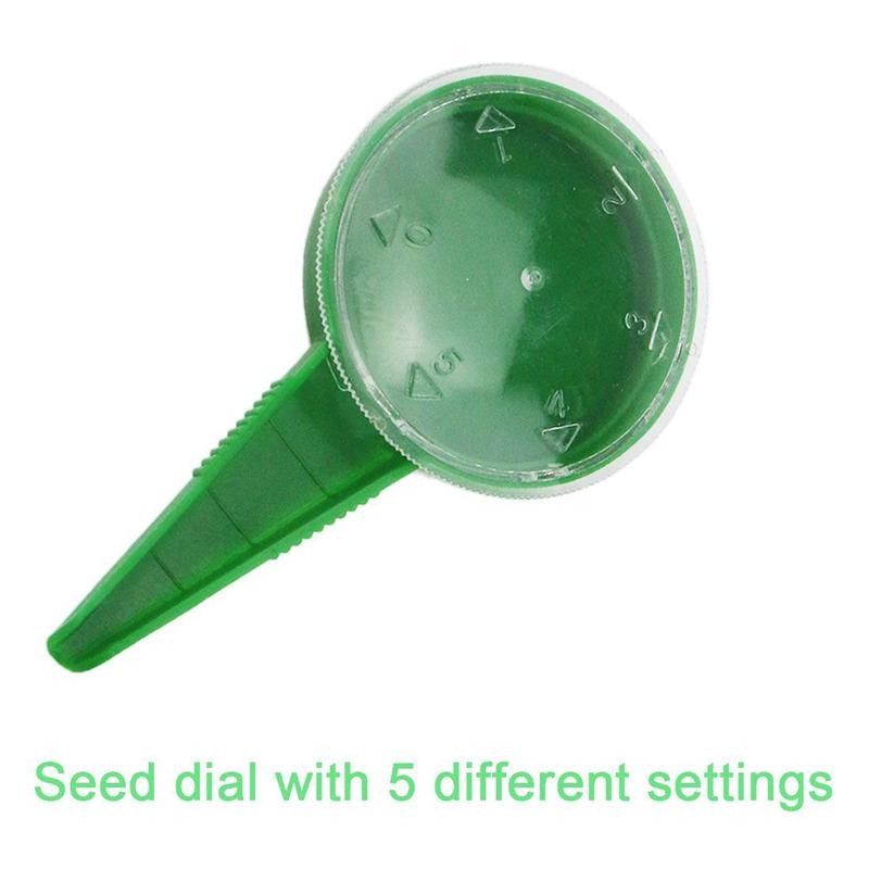 3X(Paquete de 5 Dispensador de semillas Sembrador Sembradora Herramienta para E6